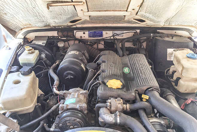 1994 Land Rover Defender 300TDI ENGINE