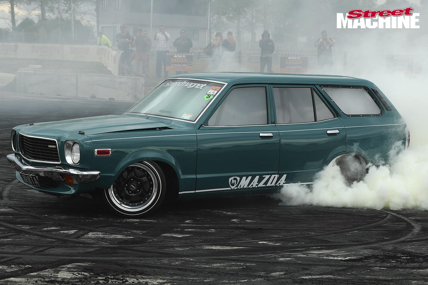 6_Mazda RX3 Wagon Burnout For Web