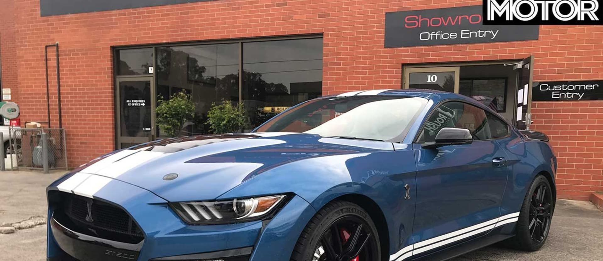 Shelby GT500 right-hand drive