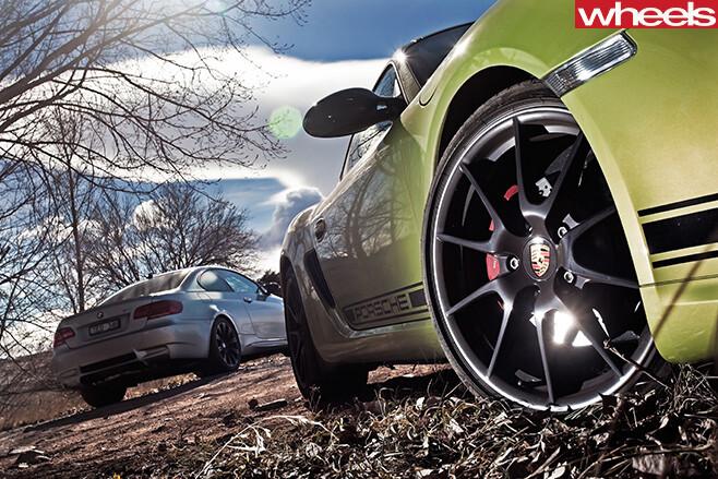 Porsche -Cayman -wheels