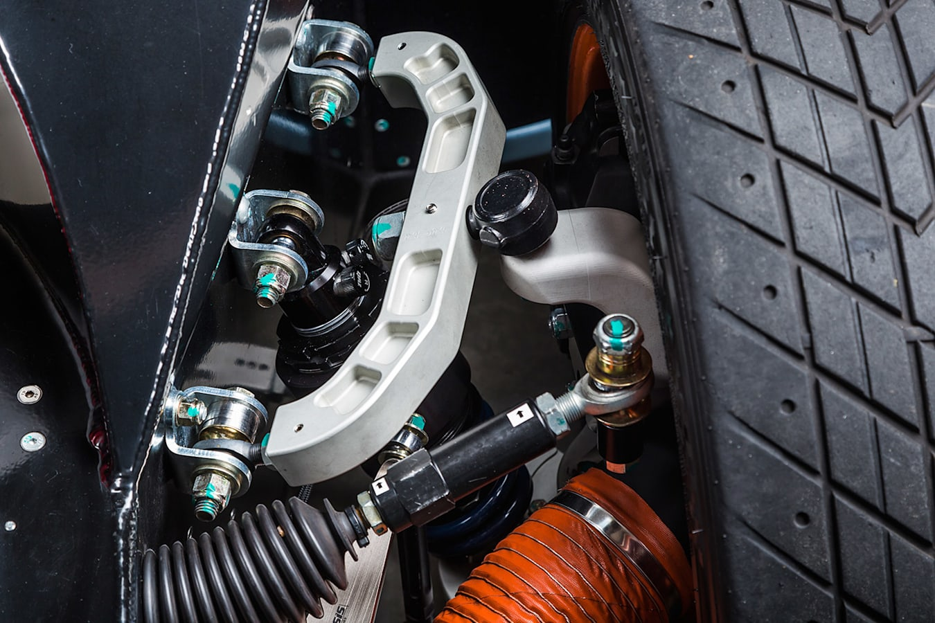 Ford GT40 suspension