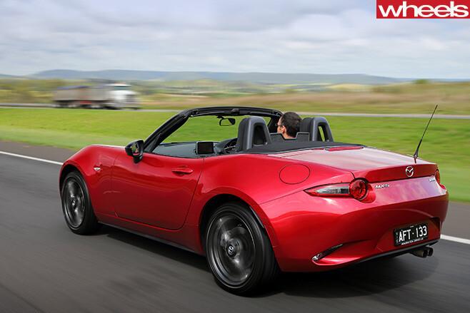 Mazda -MX-5-rear