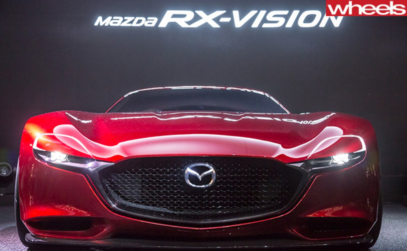 Mazda -R-Vision -Concept -front -onm