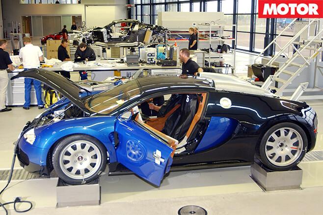 Bugatti Veyron build 2