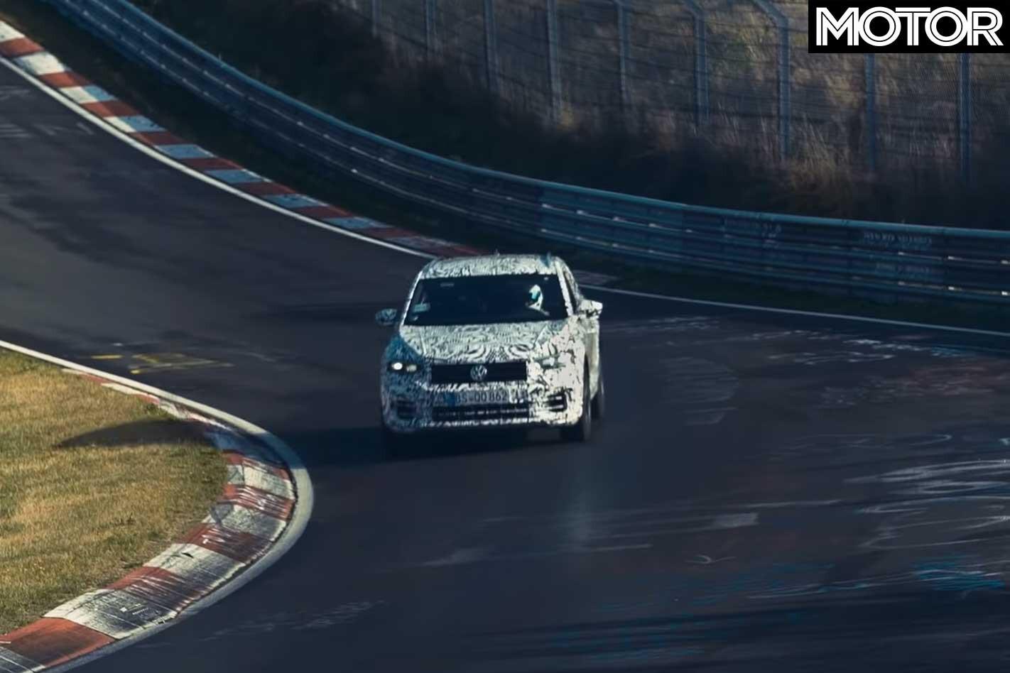 Volkswagen Confirms T Roc R Front On Track Jpg