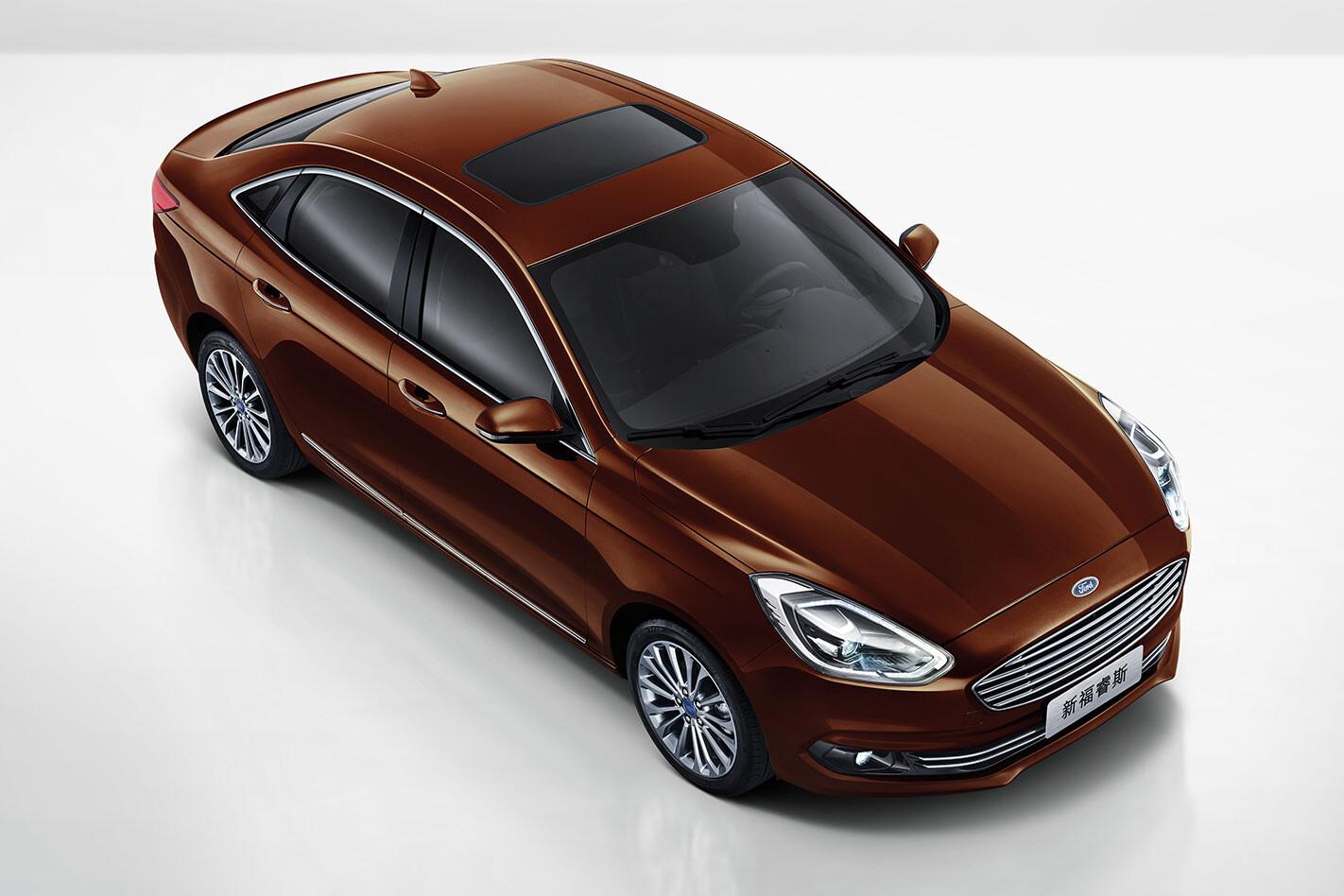 Australian-developed 2018 Ford Escort for China