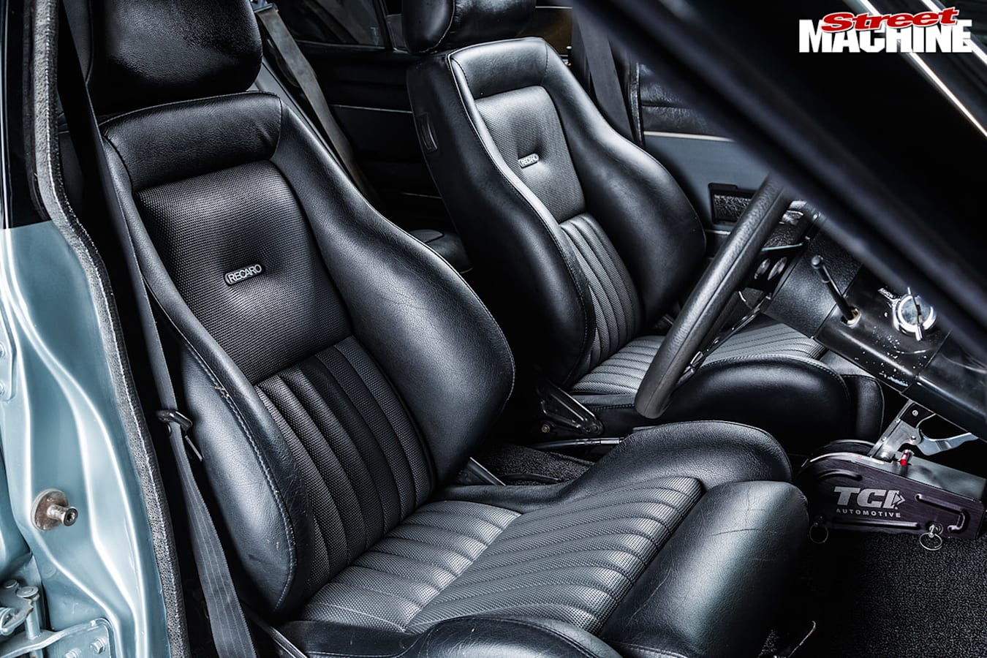 Holden Torana front seats