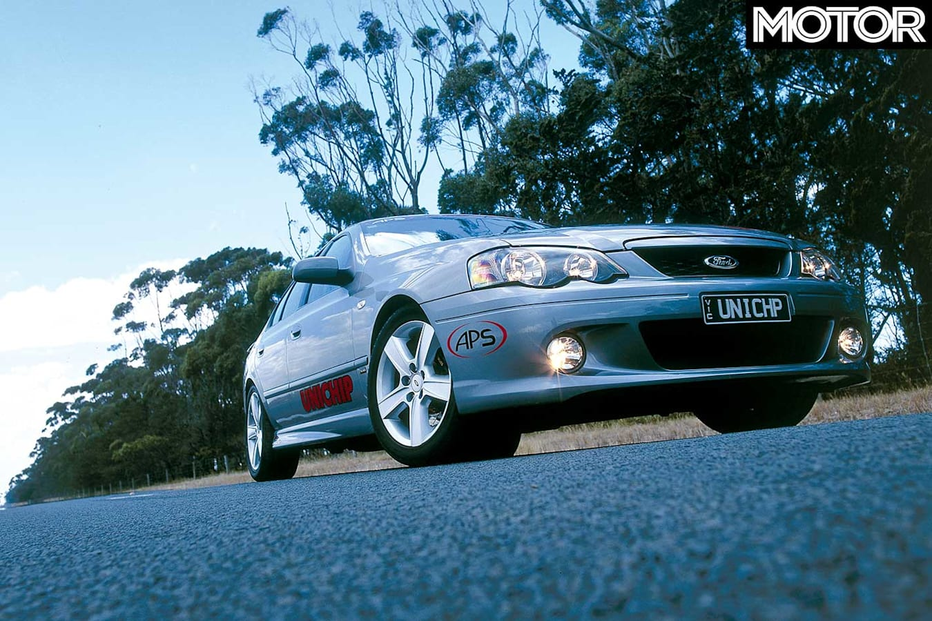2004 APS Falcon Phase III XR 6 T Hot Tuner Front Static Jpg
