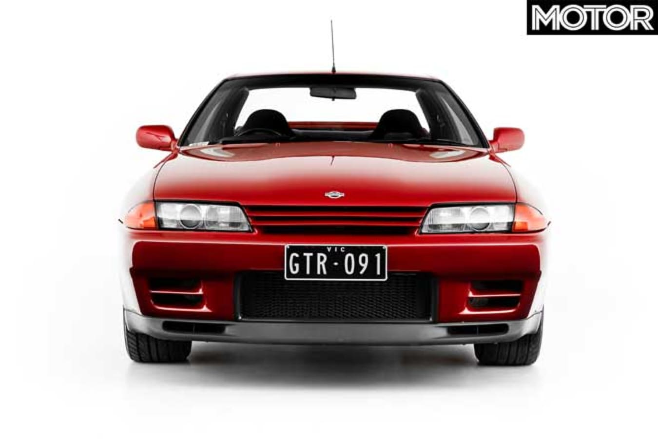 1991 Nissan R 32 Skyline GT R Nose Jpg