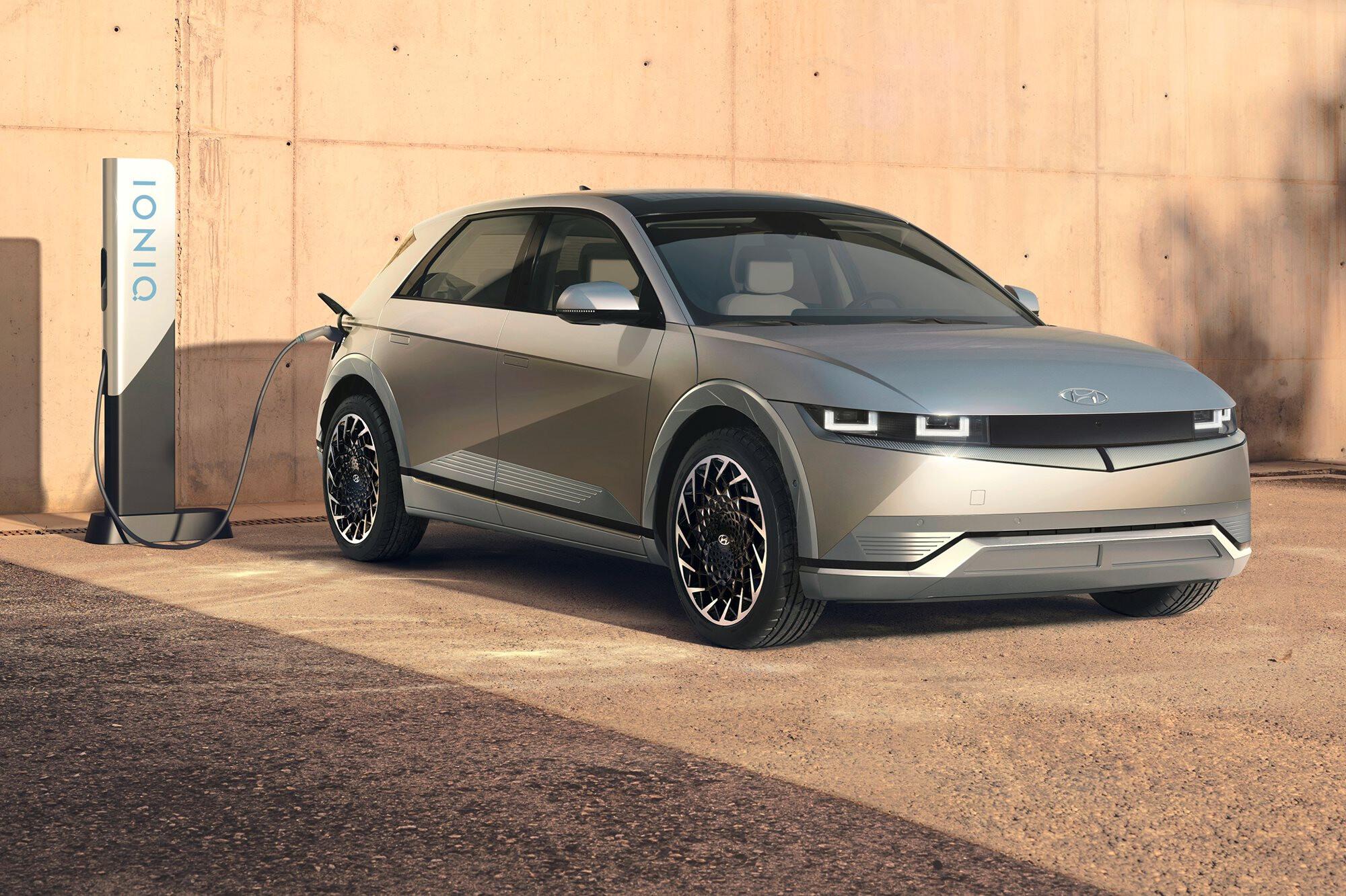2022 Hyundai Ioniq 5 Electric Vehicle Revealed 1 Jpg