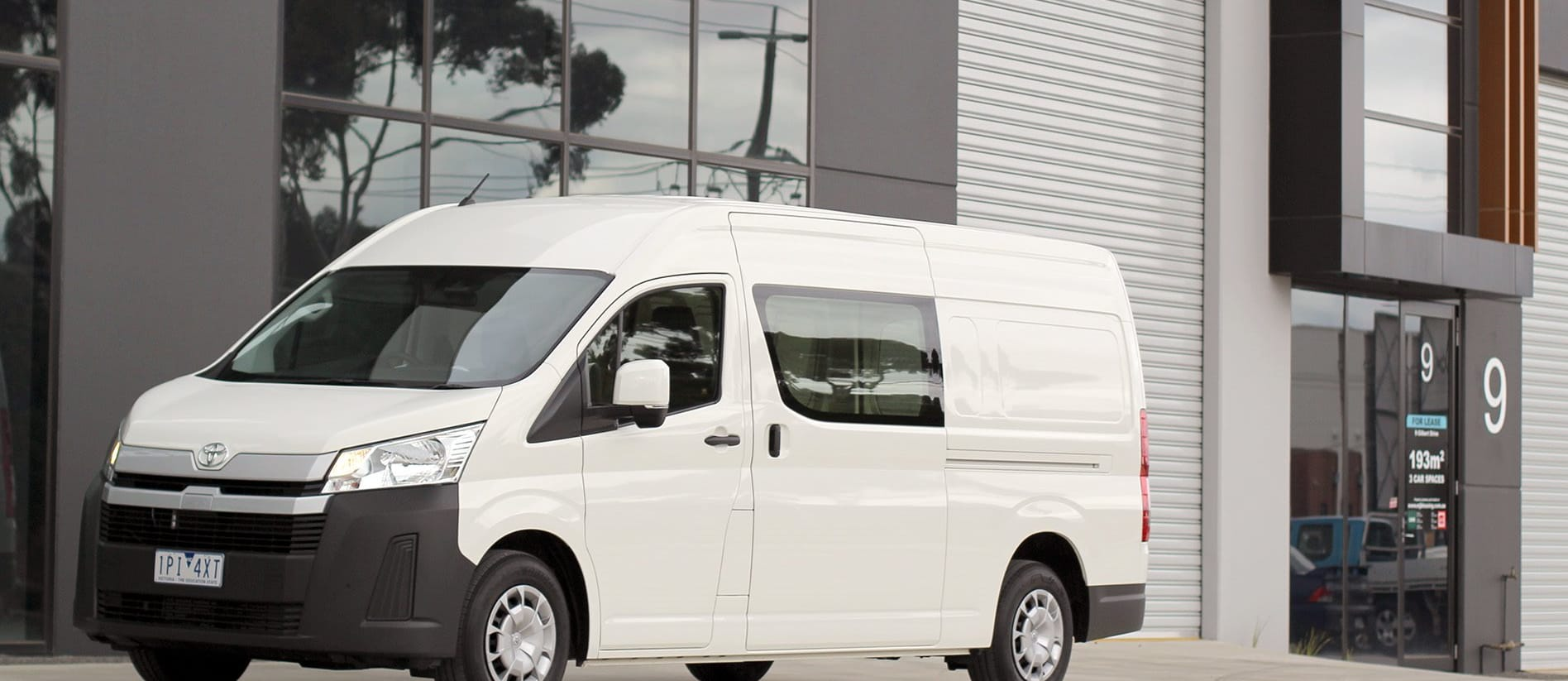 Toyota Hiace SLWB diesel automatic review