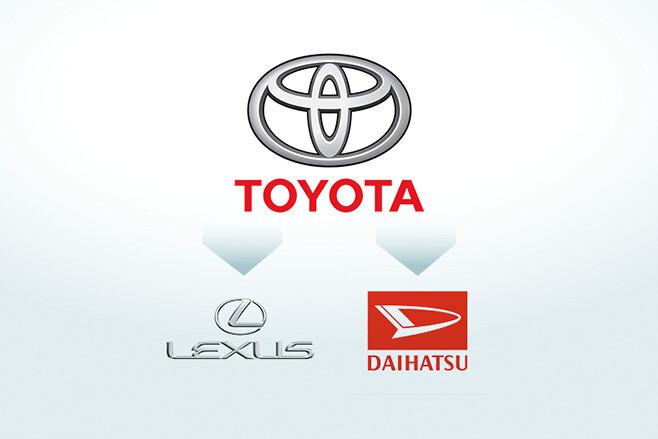 Toyota family tree