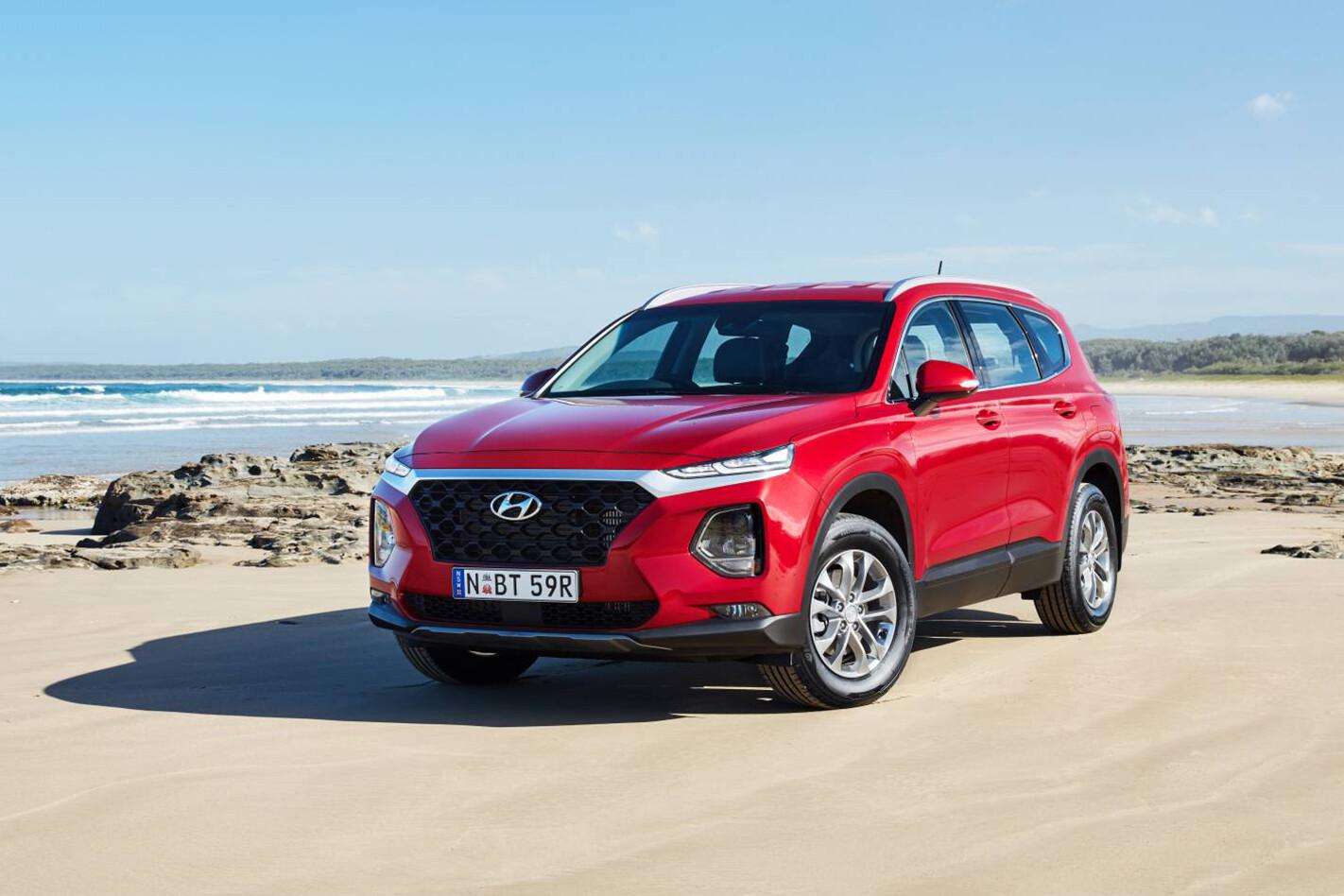 MY19 Hyundai Santa Fe