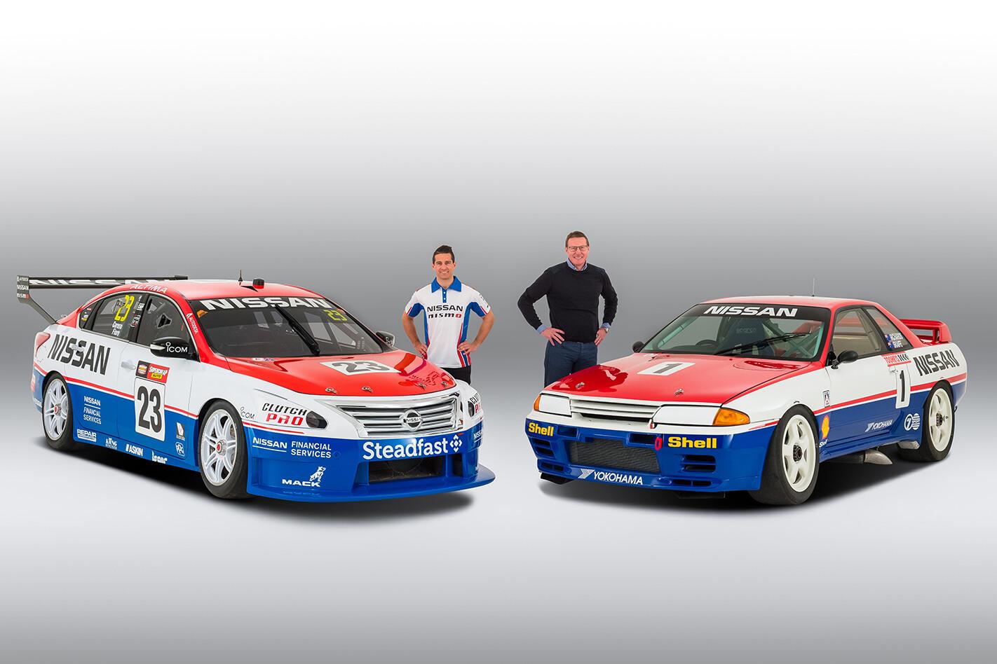 Nissan touring cars Australia