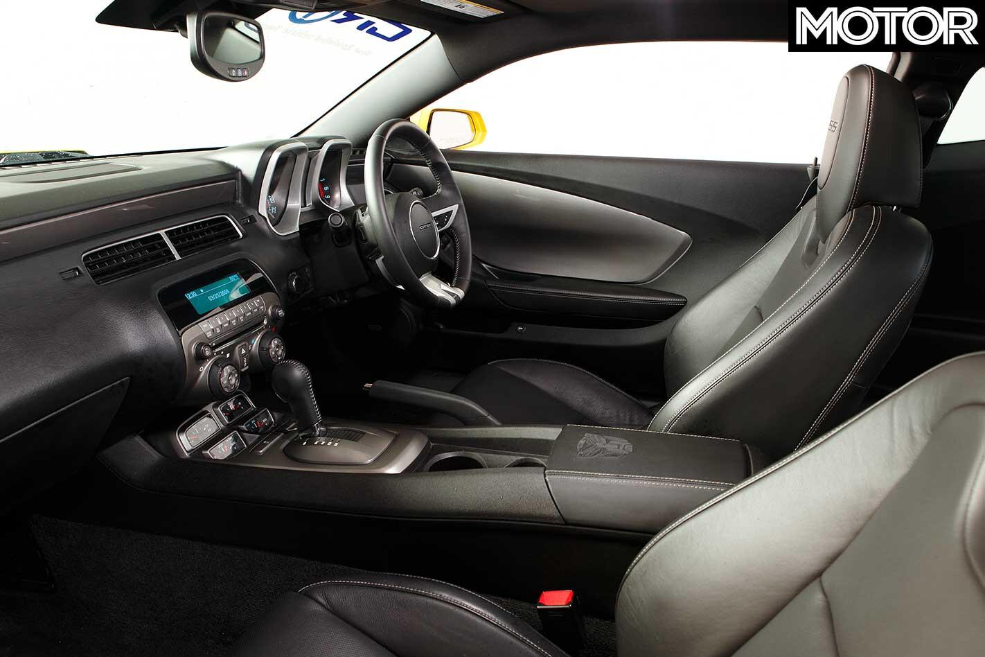 2011 Chevrolet Camaro Interior Jpg