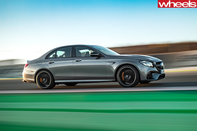 Mercedes -AMG-E63-driving -side
