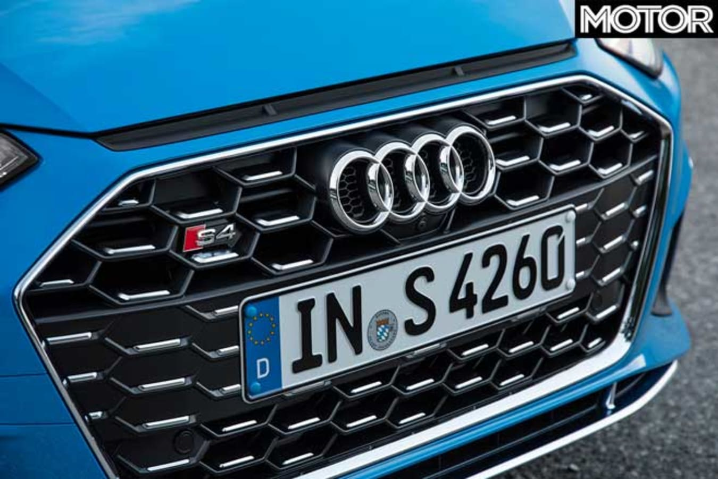 2019 Audi S 4 TDI Front Grille Jpg
