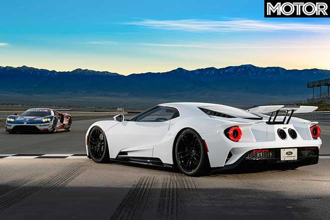 2017 Ford GT road and race car