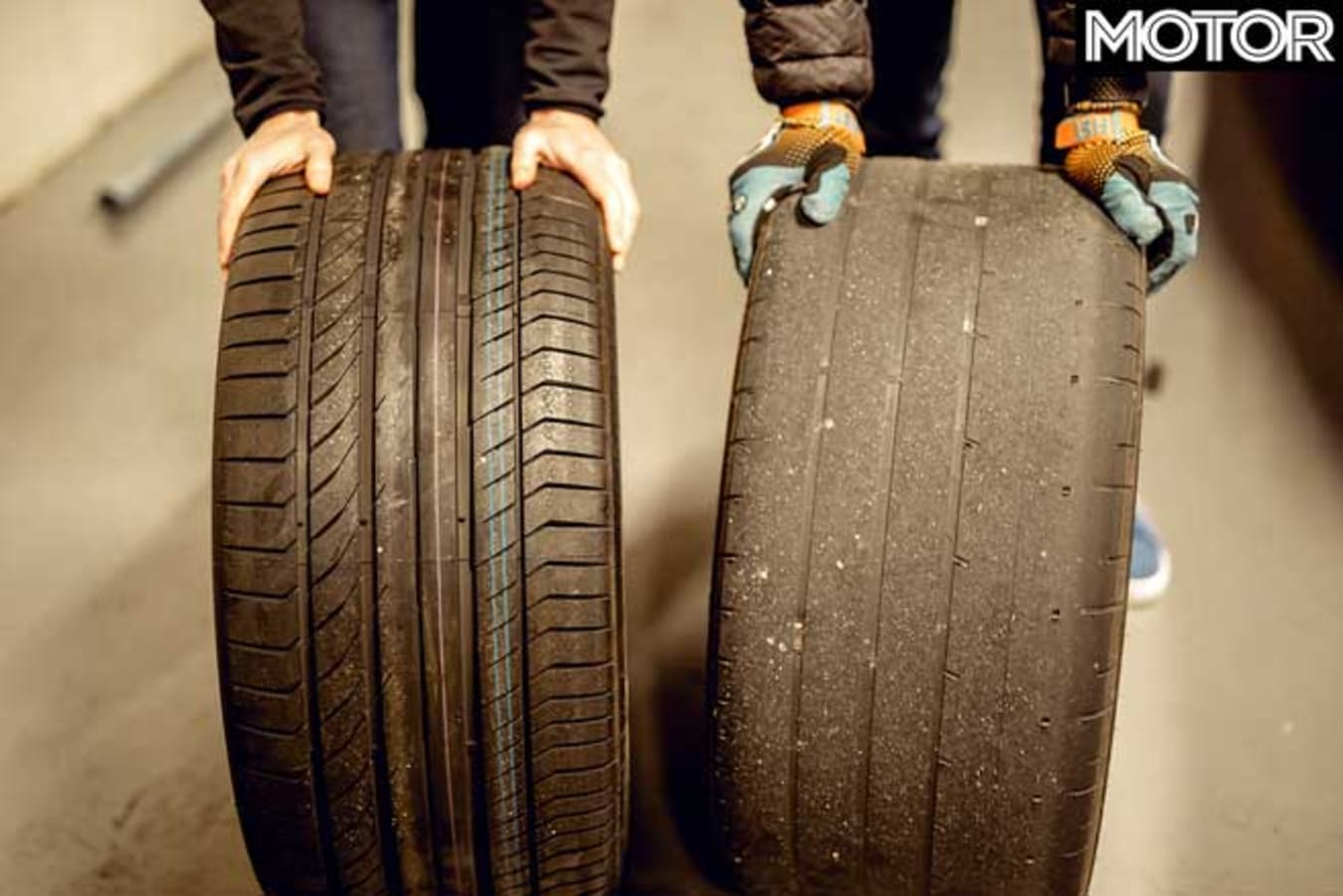 Behind The Scenes Performance Car Of The Year 2020 Tyre Usage Jpg
