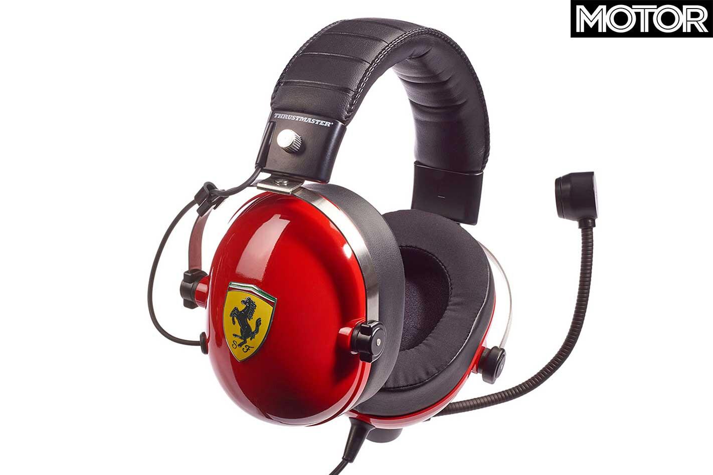 Cool Car Things We Want January 2019 Thrustmaster Ferrari Headset Jpg