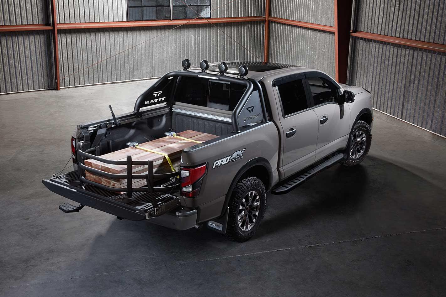 Tricked-up Titan Nissan USA SEMA