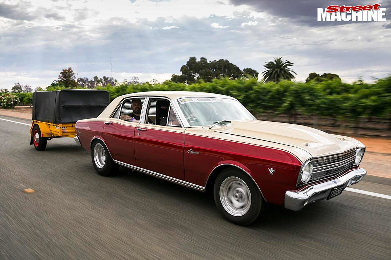 Ford XR Fairmont onroad