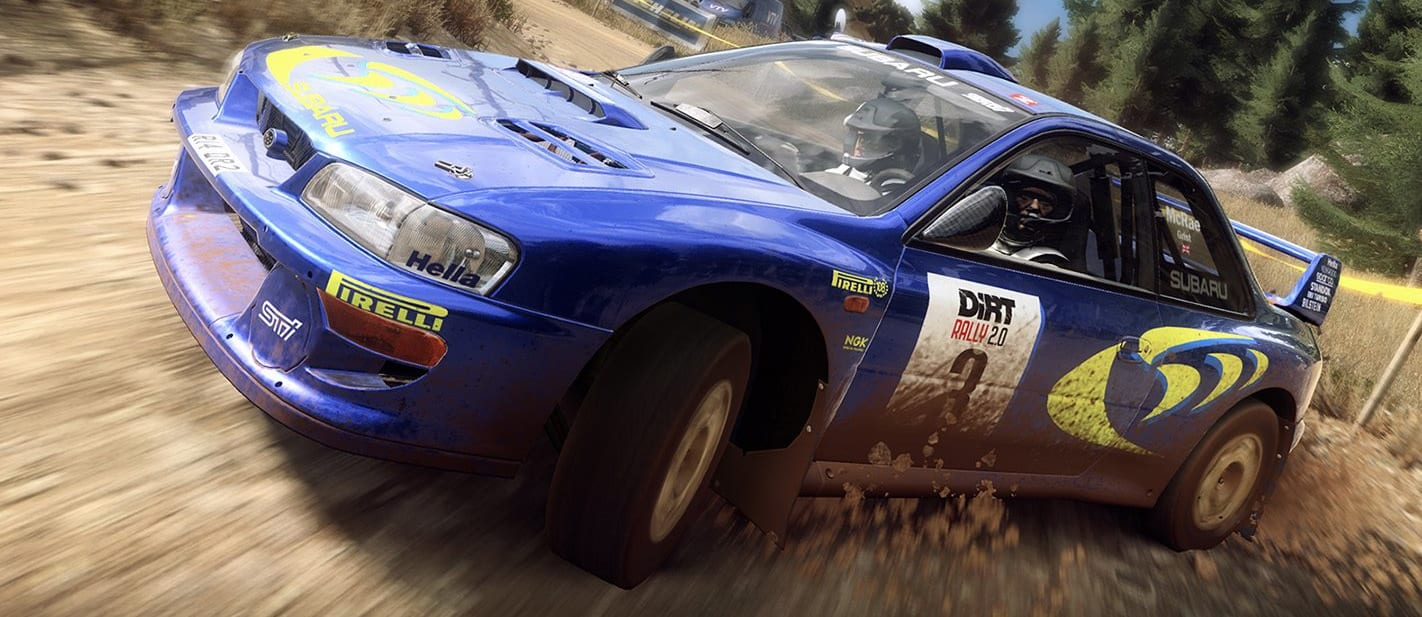 Dirt Rally 2.0 Flat Out pack Colin McRae