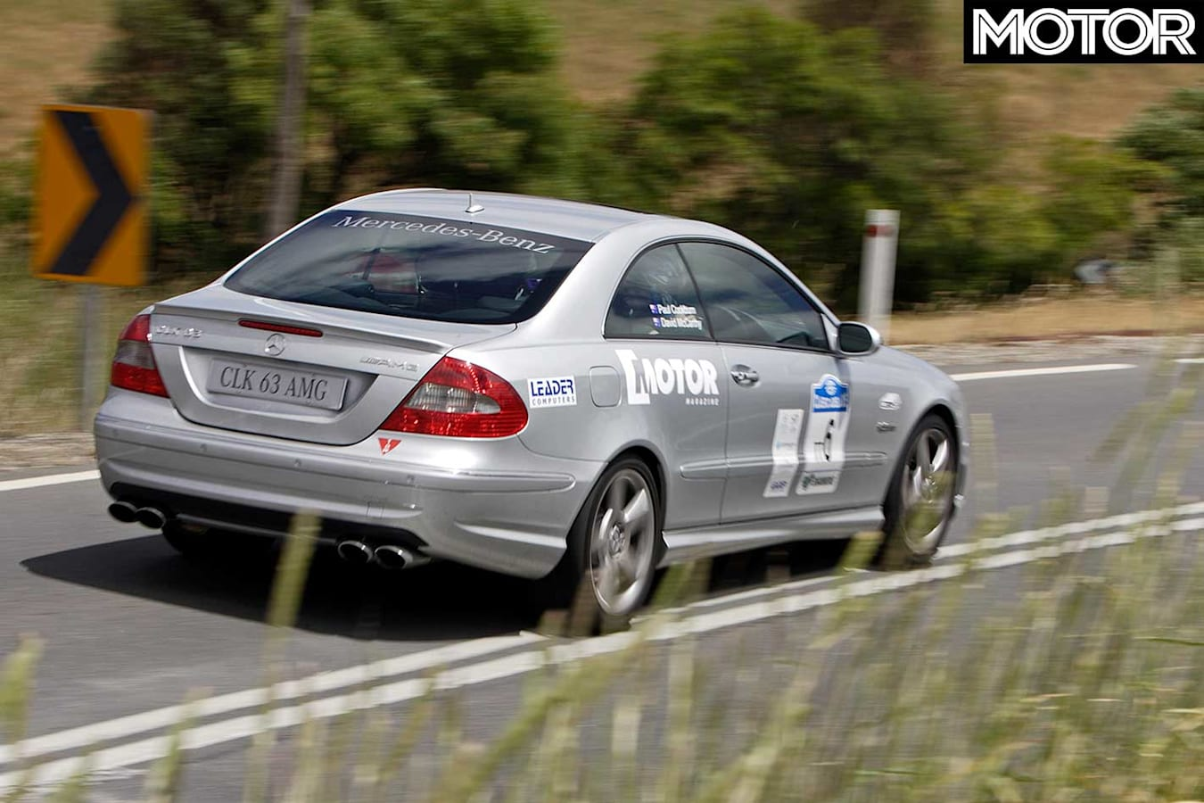 Tackling The Classic Adelaide With Clk 63 Amg Jpg
