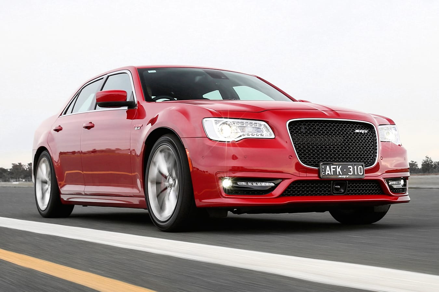 Chrysler 300c srt8 front