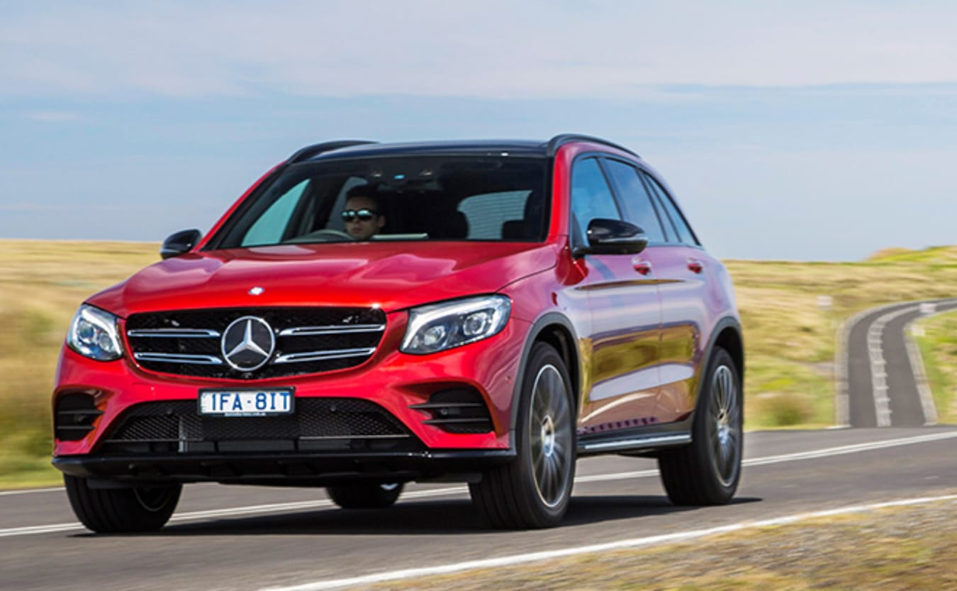 Mercedes-Benz GLC Front