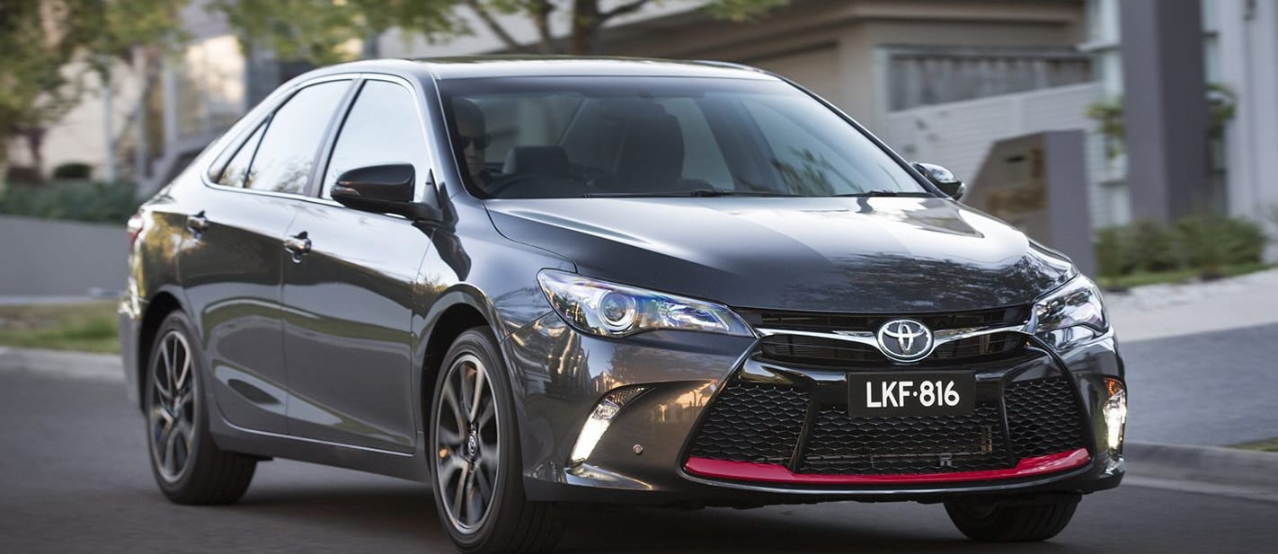 Toyota Camry Front Side Driving Jpg