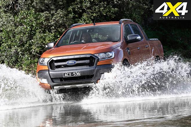 Ford -Ranger -Wildtrak -water