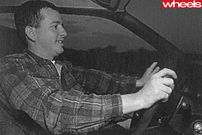 Mark -Schirmer -driving -Subaru -Outback