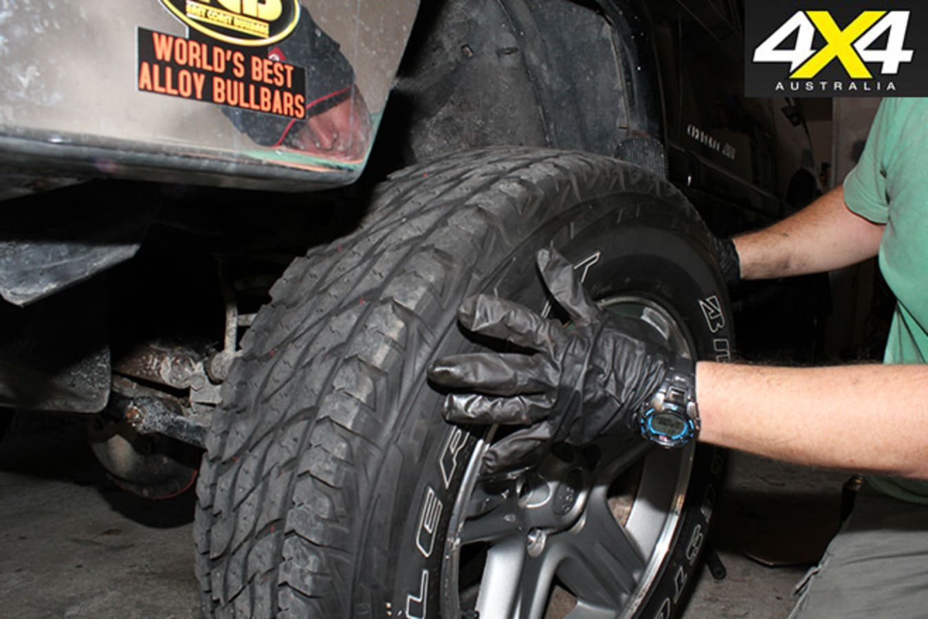 Have the correct tyres fitted for the job at hand.