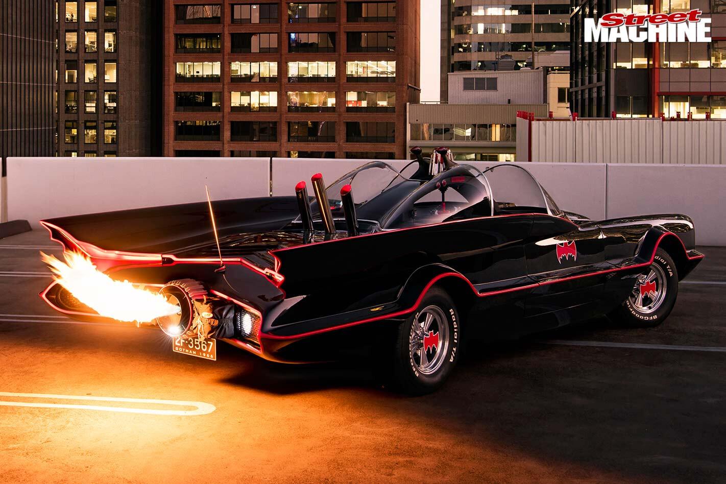 Lincoln Continental Batmobile tribute
