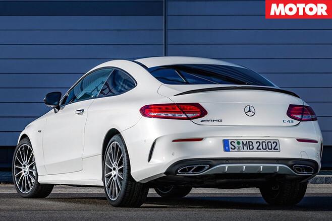 Mercedes -AMG-C43-Coupe -revealed -rear