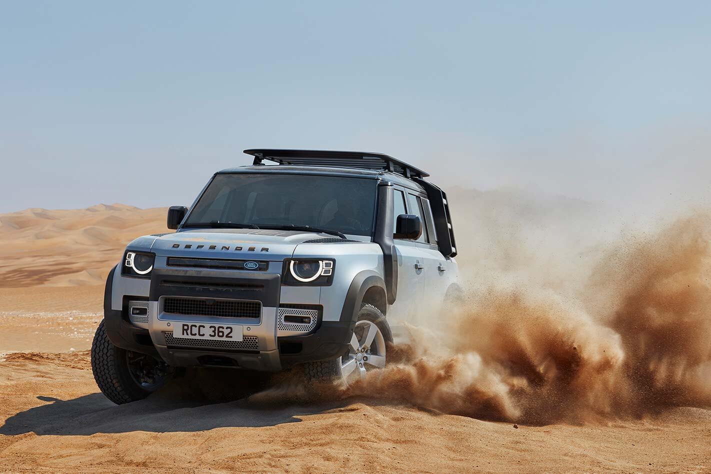 Defender desert promo
