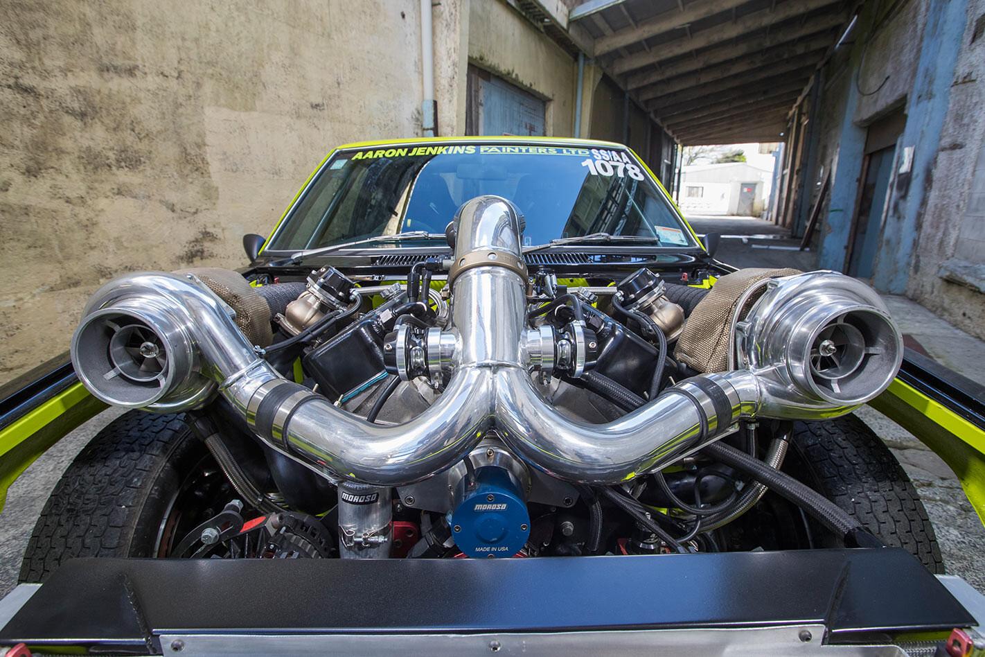 Holden Torana engine