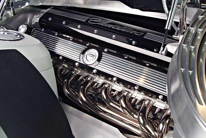 The 13.6-litre V16 engine produced 1000bhp.