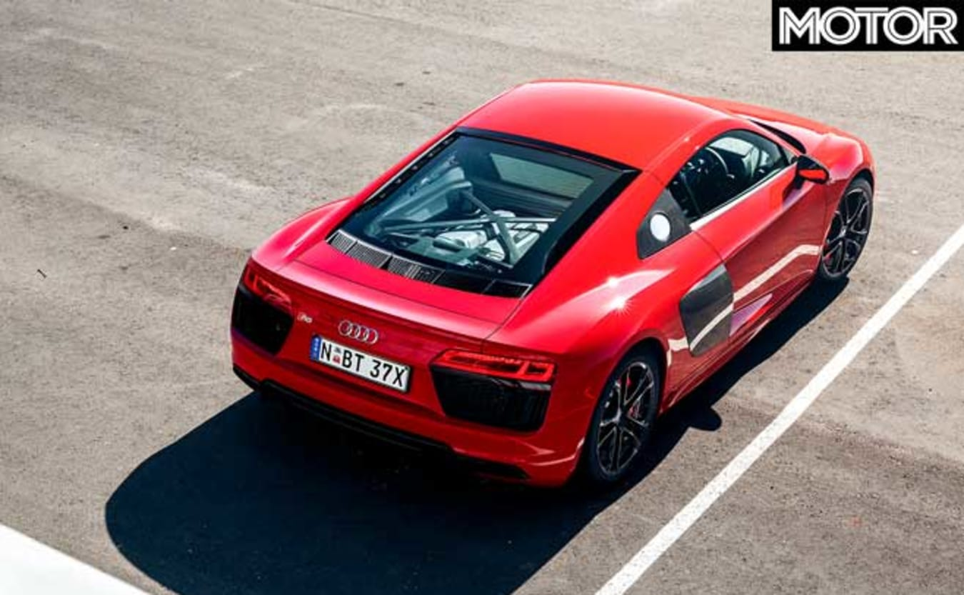 Top fastest cars tested MOTOR Magazine 2019 Audi R8 V10 RWS