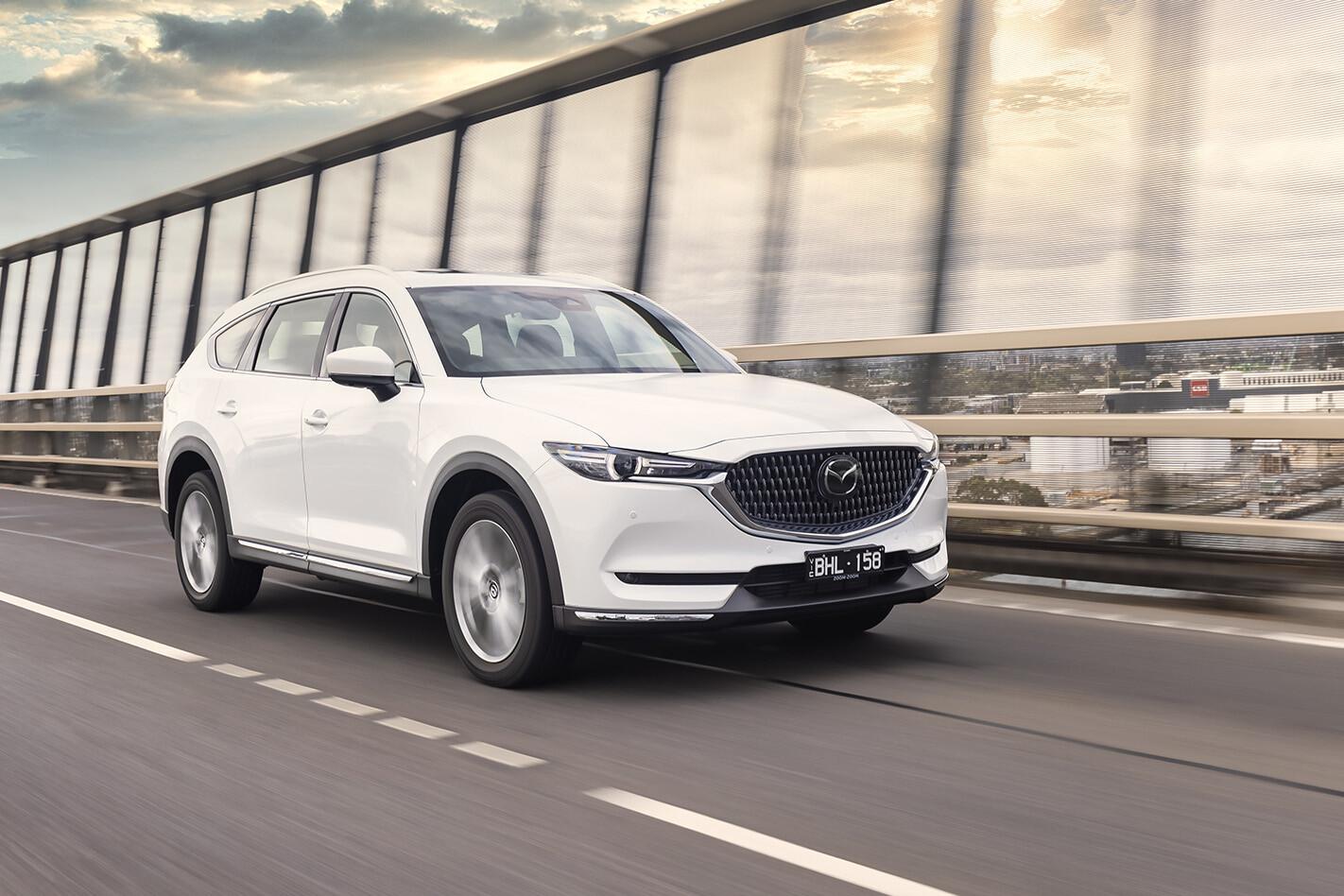 2021 Mazda CX-8 gains new spec grades