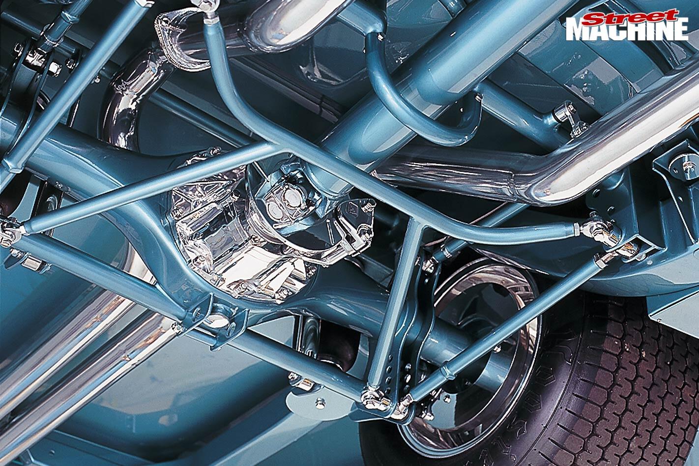 1957 Chev Bel Air underside