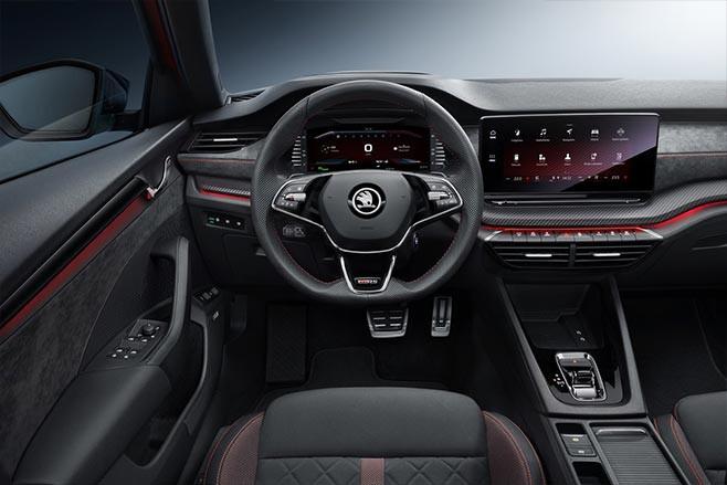 Skoda Octavia RS iV interior