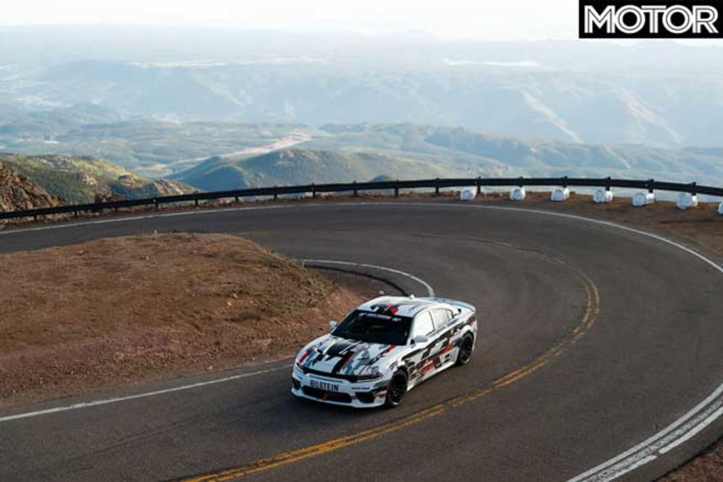 Dodge Charger SRT Hellcat Widebody Concept Pikes Peak Cornering Jpg