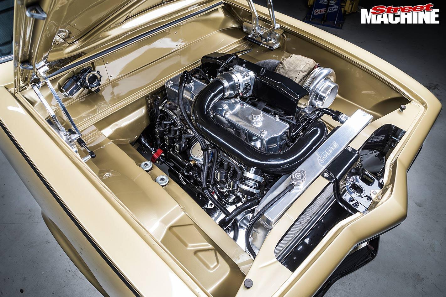 Holden Torana GTR engine bay