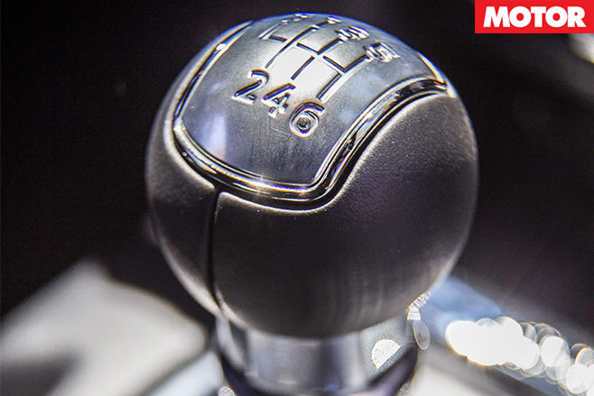 Ford Mustang gearstick