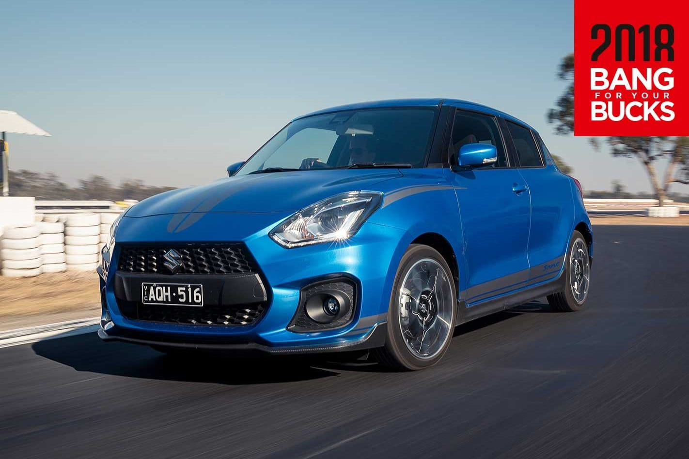 2018 Suzuki Swift Sport track review
