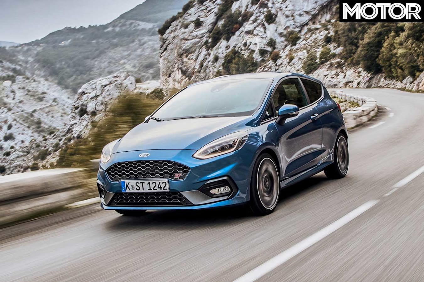 2018 Ford Fiesta St Performance Review Front Dynamic Jpg