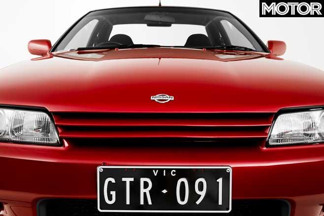 1991 Nissan R 32 Skyline GT R Front Grille Jpg
