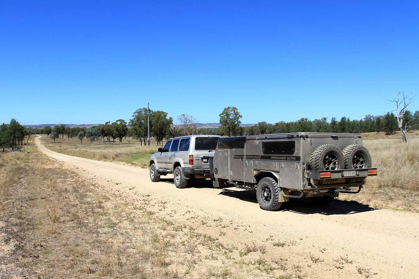 4x4 trip to Kwiambal NP NSW